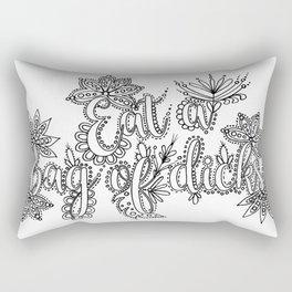 Eat A Bag of Dicks Adult Coloring, Funny Coloring Design Rectangular Pillow