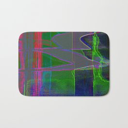 Qpop -Synthwave 1 Bath Mat