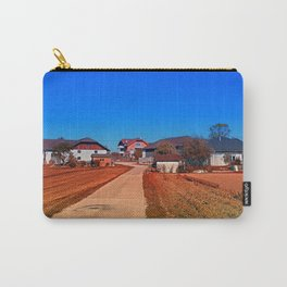 Peaceful countryside village scenery | landscape photography Carry-All Pouch