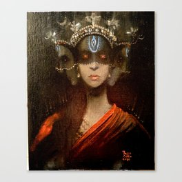 Hecate in a Crown Canvas Print