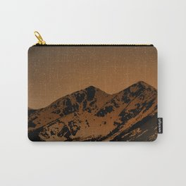 Mountains at night series III // Boulder CO Carry-All Pouch