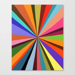 Technicolor dream 001 Canvas Print