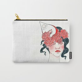 Ouija Rose Crown Carry-All Pouch