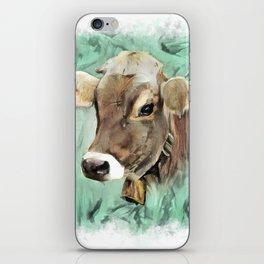 Pretty Cow iPhone Skin