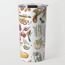 Vegetable Encyclopedia Travel Mug