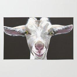 Patsy Goat Art Rug