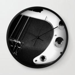 Bass Guitar - I Wall Clock