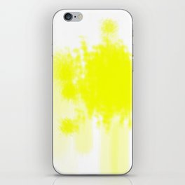 I feel yellow iPhone Skin