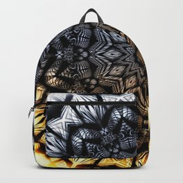 Touch of golden glow Backpack