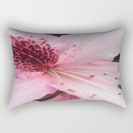 First Azaleas Rectangular Pillow