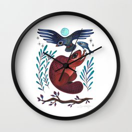 Peace Offering Wall Clock