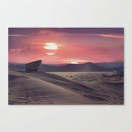 Desert Planet Canvas Print