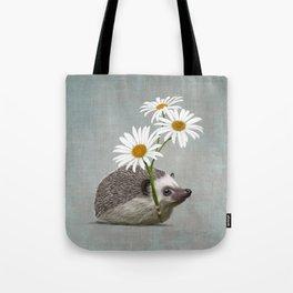 Hedgehog in love Tote Bag