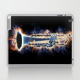 Fire trumpet in concert Laptop & iPad Skin