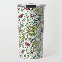Tropical Rainforest pattern Travel Mug