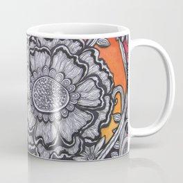 Floral Sunset Coffee Mug