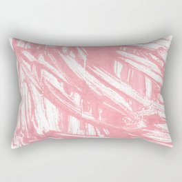 Mauvelous abstract watercolor Rectangular Pillow