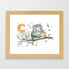 Magic Owls Framed Art Print