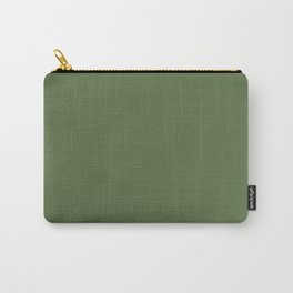 Crocodile Green - Solid Color Collection Carry-All Pouch