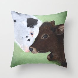 Bali & Kai Throw Pillow