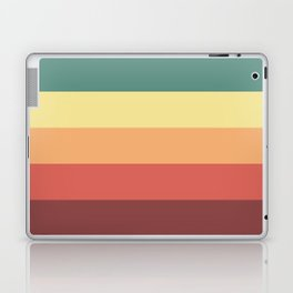 Retro Stripes Laptop & iPad Skin