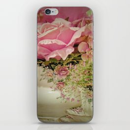 Teacups and Roses 2 iPhone Skin