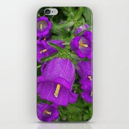 Purple Bells iPhone Skin