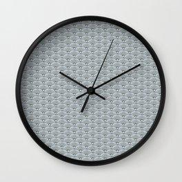 Dandilion Fishscale Photo Collage Wall Clock