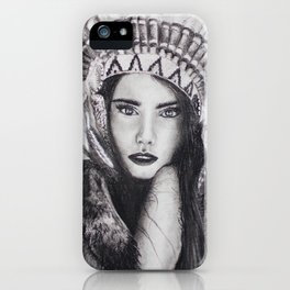 Native Beauty iPhone Case