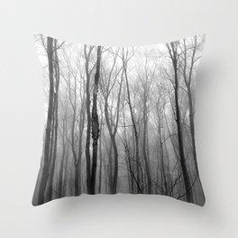 winter blight Throw Pillow