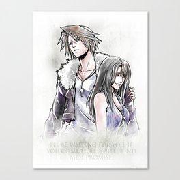 Squall / Rinoa Artwork Final Fantasy VIII Canvas Print