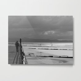 Following The Right Track Metal Print
