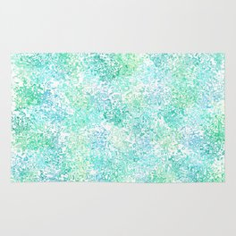 Rippled Ocean Abstract Rug