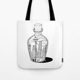 Seattle in a bottle Tote Bag