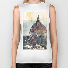 Florence - Cattedrale di Santa Maria del Fiore Biker Tank