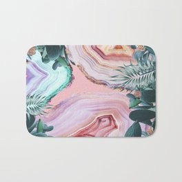 Mineral Agates & Garden #Glam collection Bath Mat