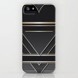 Art deco design IV iPhone Case