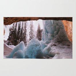 Hanging Lake Spouting Rock at Glenwood Canyon Glenwood Spring Area Colorado. Rug
