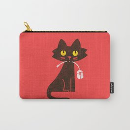 Fitz - Hungry hungry cat (and unfortunate mouse) Carry-All Pouch