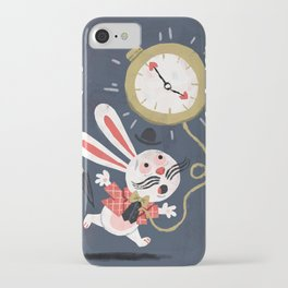 White Rabbit - Alice in Wonderland iPhone Case