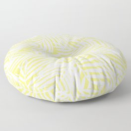 Bright Tropical Island Limelight Floor Pillow
