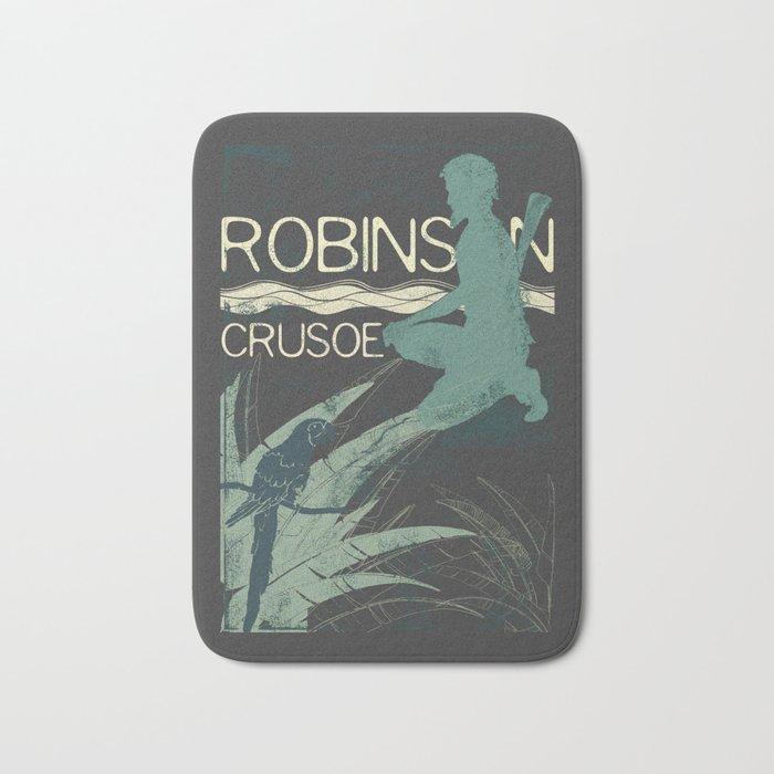 Books Collection: Robinson Crusoe Bath Mat