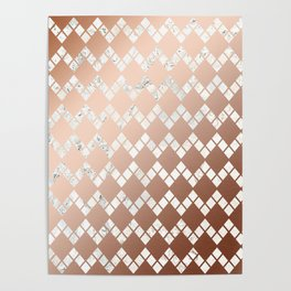 Copper & Marble 03 Poster