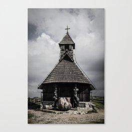 Wooden church Canvas Print