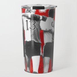 Feyenoord Rotterdam - Hand in hand kameraden Travel Mug