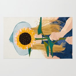 Miss Sunflower || Rug