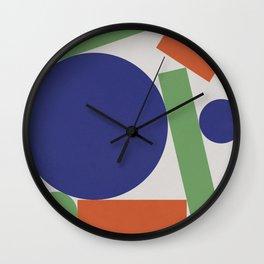 Geometry IV Wall Clock