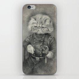 Colonel Puss iPhone Skin
