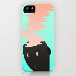 Brain combustion iPhone Case