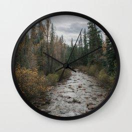 Rocky River Autumn Wall Clock
